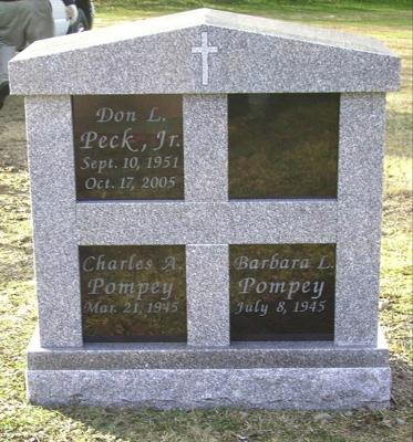 Four Niche Cremation Memorial