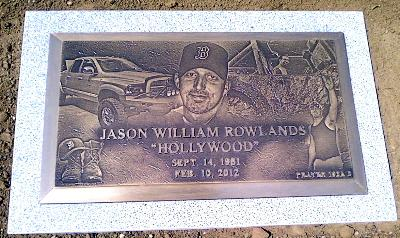 Personalized Bronze Marker