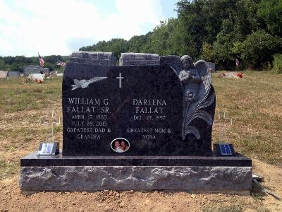 Custom Shaped Monument