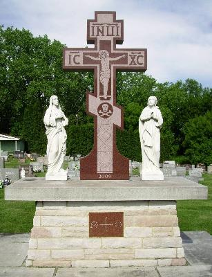 Cemetery Cross Memorial