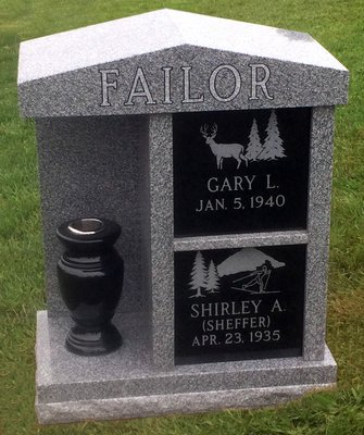Double Niche Cremation Memorial